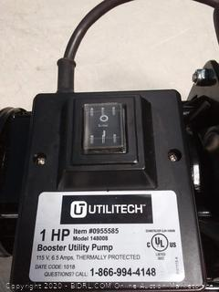 Utilitech 1-HP Stainless Steel Lawn Pump(powers on) online $189