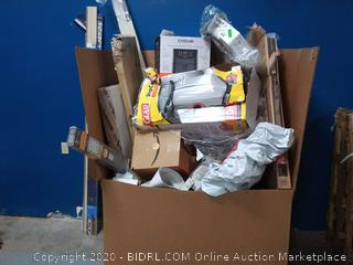 Large gaylord box of many different miscellaneous types of items