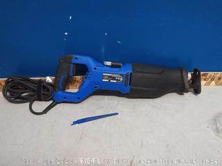 Kobalt 13-Amp Keyless Variable Speed Corded Reciprocating Saw(powers on)
