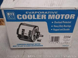 Dial 2-Speed 1/2 HP 115- Volt Permanently Lubricated Evaporative Cooler Motor (online $86)