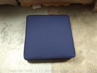 Patio Chair Cusion: Navy Blue