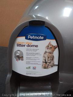 MAY-Booda Dome Clean Step Cat Box Gray(rack c row 2)