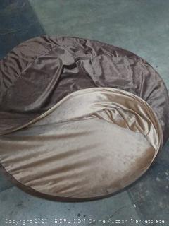 snuggle large dog bed foam insulated