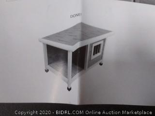 wooden dog house small