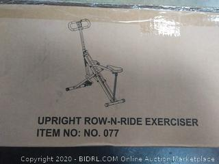 Sunny Health and Fitness upright row and ride exerciser(sports pallet#37)
