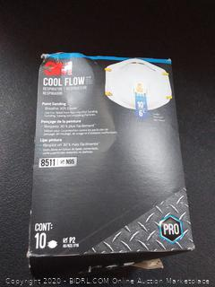 3M cool flow respirator 10 pack