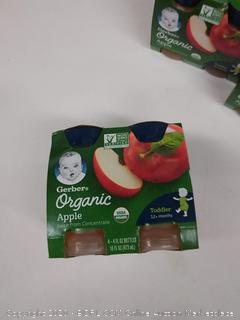 Gerber organic apple juice