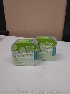 drinkfinity cucumber coconut water beverage infusion pods 2Pac