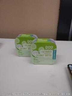 drinkfinity cucumber coconut water beverage infusion pods
