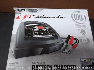 SCHUMACHER SC1308 SPEED Battery CHARGER AMP BATTERY(used)(powers on)
