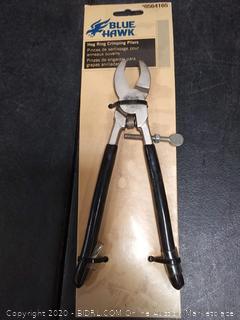 Blue Hawk Fence Hog Ring Pliers Upholstery Plier Fencing Steel