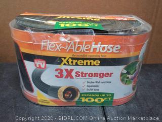 Flex-Able Hose ASOTV 1-in x 40-ft Heavy-Duty Kink Free Rubber