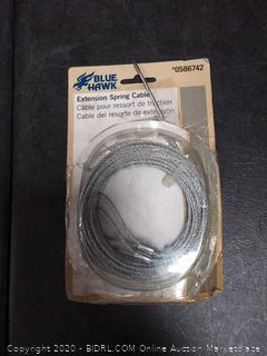 Blue Hawk extension spring cable