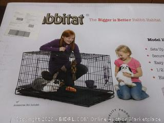 Midwest Wabbitat Folding Rabbit Cage(rack c row2)