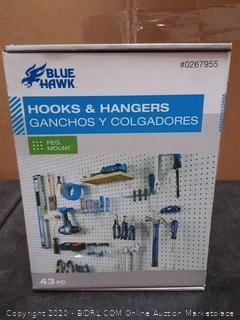 Blue Hawk Hooks and Hangers