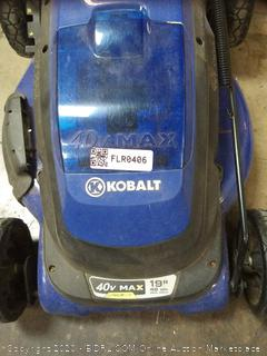 Cobalt lawnmower parts(cord cut needs new) (used)