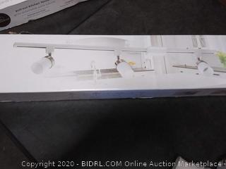Lithonia Lighting 44.5 in. 3-Light White LED Meshback Track