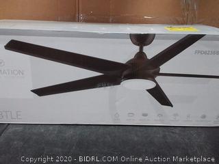 Fanimation FPD6236BGR Subtle 72 inch Matte Greige with celiling fan