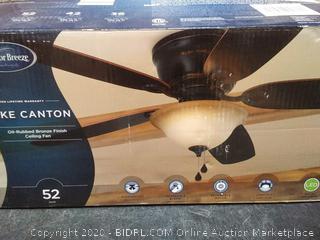 Harbor Breeze Lake Canton 52 inch ceiling fan