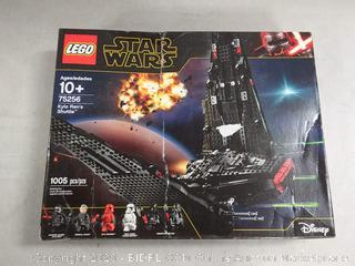 LEGO Star Wars: The Rise of Skywalker Kylo Rens Shuttle 75256 Star Wars Shuttle Action Figure Building Kit (1,005 Pieces) online $159