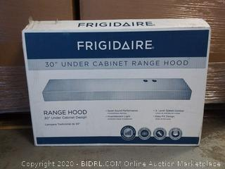 """Frigidaire FHWC3025MW 30"""" White Under Cabinet Range Hood (online $139)"""