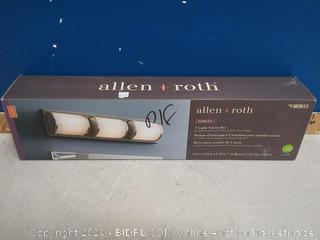 Allen+Roth 3-light Vanity Bar (Missing Glass Shade)