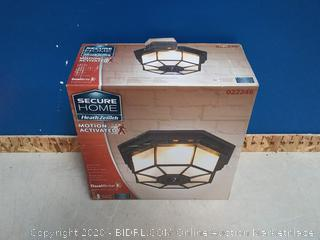 Secure Home Motion Activated Lighting Fixture