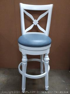"American Heritage Livingston 30"" Bar Stool in Antique White"