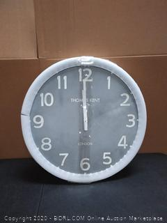 Thomas Kent clock (cracked)(on rack)