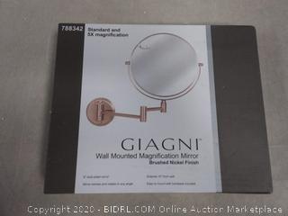 UPC 747872800146 Giagni Wall Mounted Magnification Mirror