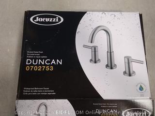 Jacuzzi Duncan Brushed Nickel 2-Handle Bathroom Sink
