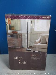 Allen and Roth tapsley floor lamp (online $90)