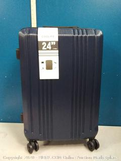 coolife life 24in Navy spinner luggage