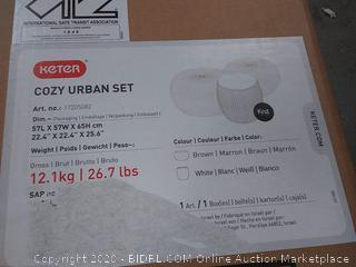 keter cozy Urban set