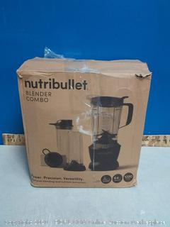 NutriBullet ZNBF30500Z Blender Combo 1200 Watt, 1200W, Dark Gray (Missing Recipe Book) online $139