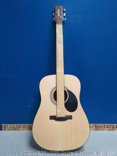 Jasmine S35 Dreadnought Acoustic Guitar Satin Natural Finish (online $109)