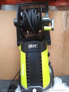 Sun Joe SPX3001 Electric Pressure Washer | 2030 PSI | Hose Reel(pallet#35)(powers on)