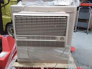 4700 CFM 2-Speed Window Evaporative Cooler for 1600 sq. ft. (with Motor and Remote Control) (powers on) online $695 - See photos, looks new inside