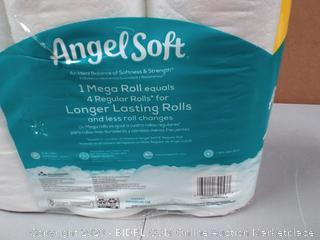 Angel Soft 9 Mega Toilet Paper Rolls 9.00 each Harris Teeter