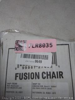 oniva Fusion chair grey with black frame