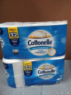 Cottonelle 6 family Mega rolls X2