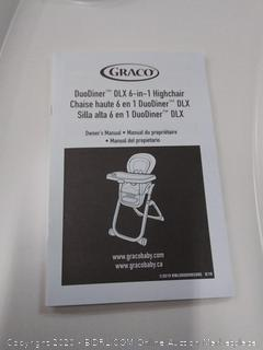 Graco DuoDiner DLX 6 in 1 highchair Hamilton fashion