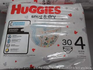 Huggies Snug & Dry Diapers dirty diapers x 3 packs