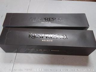 Nespresso Capsules Melozio, Coffee 10 Coun exp 03/31/2021 2 count