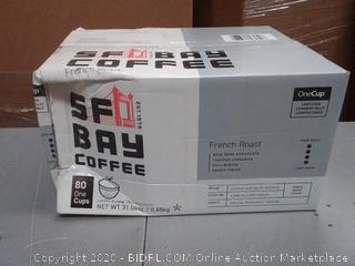Buy SF Bay Coffee French Roast 80 Ct Dark Roast Compostable