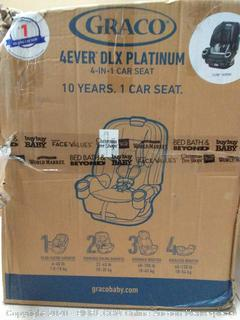 Graco 4Ever DLX Platinum 4 in 1 car seat Flynn fashion