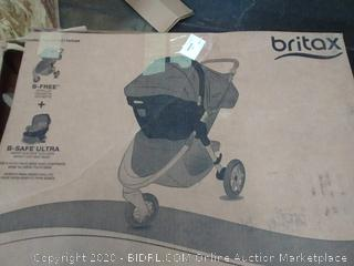 Britax b-free and B safe Ultra travel system