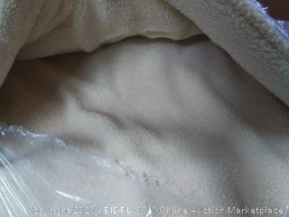 amazonbasics pet cave bed extra large blue (online $77)