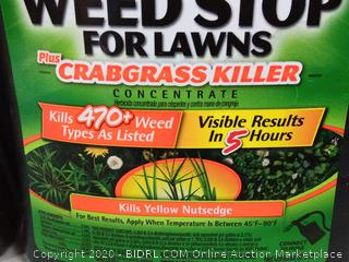 spectracide weed stop for lawns plus crabgrass killer 2pck