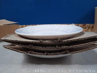 Gibson Overseas Juneau 14-Piece Dinnerware Set